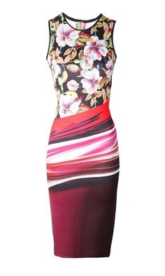 Oxygen   Clover Canyon Botanical Wave Dress  http://www.oxygenboutique.com/Botanical-Wave-Dress.aspx  #clovercanyon #dress #print #colour #fashion #ootd