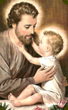 São José e o Menino Jesus St Joseph Catholic, Catholic Art, Catholic Saints, Pictures Of Jesus Christ, Religious Pictures, Blessed Mother Mary, Blessed Virgin Mary, Jesus Father, Christian Images