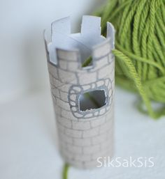 - - - SikSakSis - - -: Neulohan neuletornilla Tuli, Toothbrush Holder, Container, Craft, Toothbrush Holders, Canisters