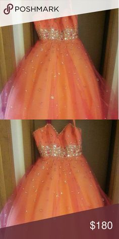 Mori lee Prom Dress size12 Only worn once for prom. In good condition. Mori Lee Dresses Prom