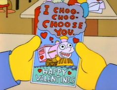 Valentine from Lisa Simpson