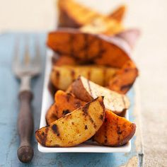 Heat up the grill for these zesty potato wedges!