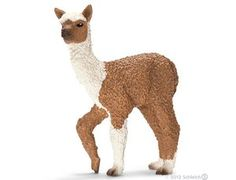 The Alpaca Foal from the Schleich farm animal collection - Discounts on all Schleich Toys at Wonderland Models.    One our favourite models in the Schleich Farm Animals range is the Schleich Alpaca Foal.    Schleich manufacture amazingly wonderful accurate models of all sorts of animals, particularly farm animals including this model of the Alpaca Foal which can be complemented by any of the items in the Farm Accessories and Farm People ranges.