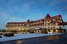 www.dnahotels.com Algonquin Resort, Algonquin Hotel, New Brunswick Canada, Classic Christmas Decorations, Atlantic Canada, Seaside Resort, Prince Edward Island, Christmas Vacation, Trip Advisor
