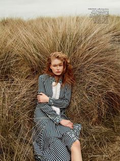 "Duchess Dior: ""Beside the Silver Sea"" Hollie May Saker for Harper's Bazaar UK July 2016"