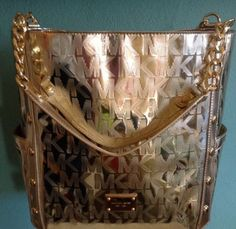 b23ee879258af8 ... sweden coupon for nwt michael kors large brown hamilton crocodile  embossed tote purse stuff to have