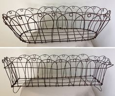 Lovely vintage wire baskets