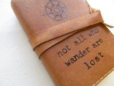 petits articles en cuir journal carnet de croquis par inblue