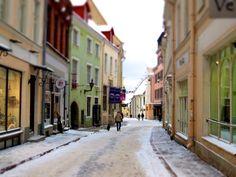 Strolling around Vana Tallinn Estonia