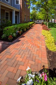 New Canaan Streetscape - Glen-Gery Brick