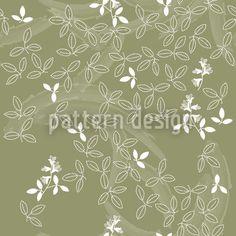 Bushclover designed by Martina Stadler, vector download available on patterndesigns.com