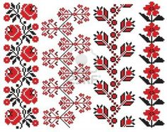 Folk Embroidery Patterns romanian embroidery patterns - - Millions of Creative Stock Photos, Vectors, Videos and Music Files For Your Inspiration and Projects. Folk Embroidery, Cross Stitch Embroidery, Embroidery Patterns, Flower Embroidery, Cross Stitch Borders, Cross Stitching, Cross Stitch Patterns, Palestinian Embroidery, Satin Stitch