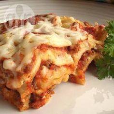 Foto de la receta: Lasagna tradicional