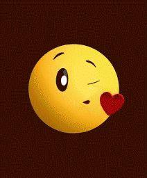 Love you 😘😘 Emoji Images, Emoji Pictures, Gif Pictures, Funny Emoji Faces, Emoticon Faces, Animated Emoticons, Funny Emoticons, Cute Notes For Boyfriend, Naughty Emoji