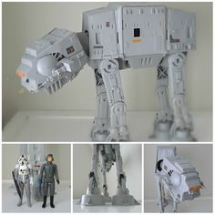 {80's Star Wars AT-AT toy} if I had this, I'd knit a little sweater for it.
