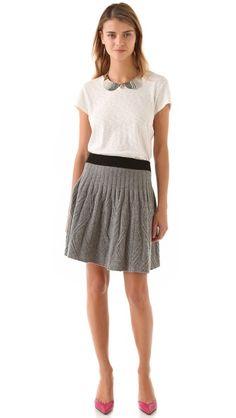 Marc by Marc Jacobs Sweater Skirt   Shop Bop CC: @Celia Karpatkin