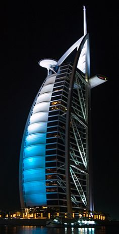 Burj Al Arab At Night <3