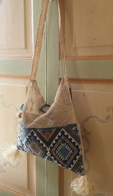 c4b430cf091 Hand Woven Laos Khmu Hill Tribe Cotton Piat Vine Shoulder Bag Purse Summer  Bag M
