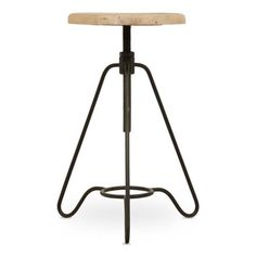 The perfect addition to your industrial style, this adjustable factory style stool will look good in your study, kitchen or even your living room. Stools For Sale, Ashley Furniture Chairs, Beach Chair With Canopy, Weylandts, Herman Miller Aeron Chair, Adjustable Stool, Entertainment Furniture, Tripod Lamp, Egg Chair