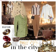"""In The City Relaxed Shopping Ensemble"" by nikki580 on Polyvore"