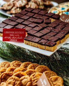 Cinnamon Shortbread with Chocolate Ganche   Simple Bites