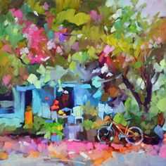 A Thousand Reasons for Joy, painting by artist Dreama Tolle Perry