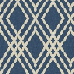 Kensington Lattice in Tint on Indigo fabric by sparrowsong on Spoonflower - custom fabric