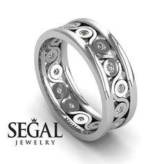 Wedding Ring Eternity  Anniversary ring 14K #jewelry #ring @EtsyMktgTool #rings #engagementrings #uniquering #anniversaryring
