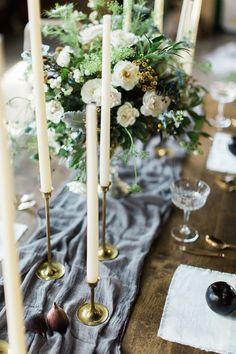 A gorgeous smoky grey table runner perfect for dressing up your reception tables, instantly adding a softness to industrial spaces, an elegance to rustic tables, and an air of luxury - whatever your reception style. Also available in Blush Pink, Champagne and White.