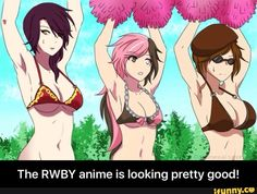 The RWBY anime is looking pretty good!