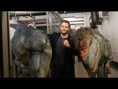 Chris Pratt piégé par des dinosaures... http://sansdeconner.net/des-dinosaures-font-peur-a-chris-pratt/