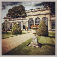 The orangery castle ashby gardens