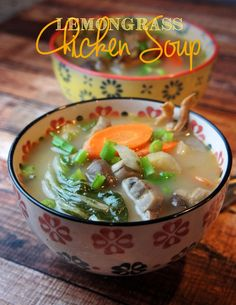 Healing Lemongrass Soup @forageddish Skip the chili peppers and make it AIP