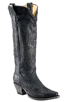 """16"""" tall cowboy boot. I bet these would be absolutely sexy as hell."""