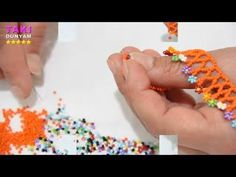 Takı Tasarımı-Kum Boncuklu Papatya Modeli Kolye Yapılışı-ÖĞRETİCİ-DIY-DETAYLI VE SESLİ ANLATIM - YouTube Beaded Necklace Patterns, Beaded Jewelry, Diy Jewelry, Beaded Bracelets, Seed Bead Tutorials, Beading Tutorials, Diy Schmuck, Schmuck Design, Jewelry Editorial