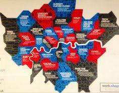 London neighborhoods London Neighborhoods, Newham, Camden, The Neighbourhood, Posters, The Neighborhood, Poster, Billboard