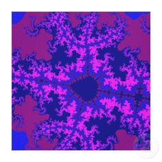 Customizable Pink, Blue and Purple Fractal Stretched Canvas on sale for $127.00 at www.zazzle.com/wonderart* or click on the picture to take you directly to the product.