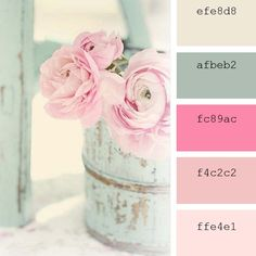 #pink #ColorPalette #rosa #color #inspiration