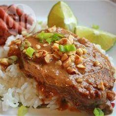 Thailändische Schweinekoteletts aus dem Slow Cooker @ de.allrecipes.com