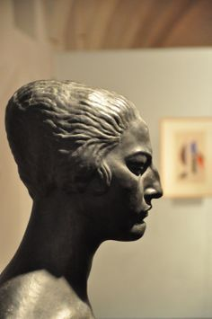 Sculpture of Růžena Zátková by the Croatian artist Ivan Meštrović