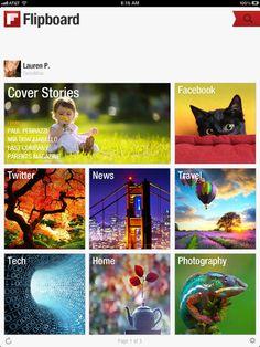 Flipboard, una buena alternativa a la desaparición de Google Reader | iPad Books