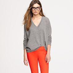 jcrew cashmere bf sweater