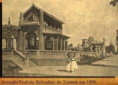 Belvedere do Trianon, 1898, demolido para a construção do MASP.
