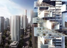 "Ole Scheeren's Vancouver skyscraper will offer a ""new typology for vertical living""."