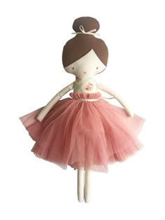A beautiful, carefully crafted, ballet doll. Amelie is the perfect 'special' gift & a treasured keepsake. Suitable from 3 yrs and makes a pretty nursery decor piece until then! Little Unicorn, Amelie, Design Crafts, Special Gifts, Nursery Decor, Kids Outfits, Plush, Dolls, Christmas Ornaments