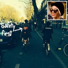 Beyoncé & Jay Z Are Blue Ivy's Personal Bike Tour Guides In Amsterdam!
