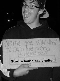 name one way that I can help end homelessness?