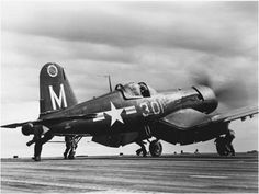 Corsair - my dad flew these.