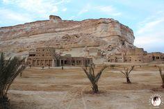 The Global Girl Travels: the Adrère Amellal luxury eco-friendly desert resort at Siwa Oasis, Egypt.