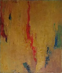 Albert Kotin, Untitled, 1960 Oil on canvas, 36 x 30 inches.